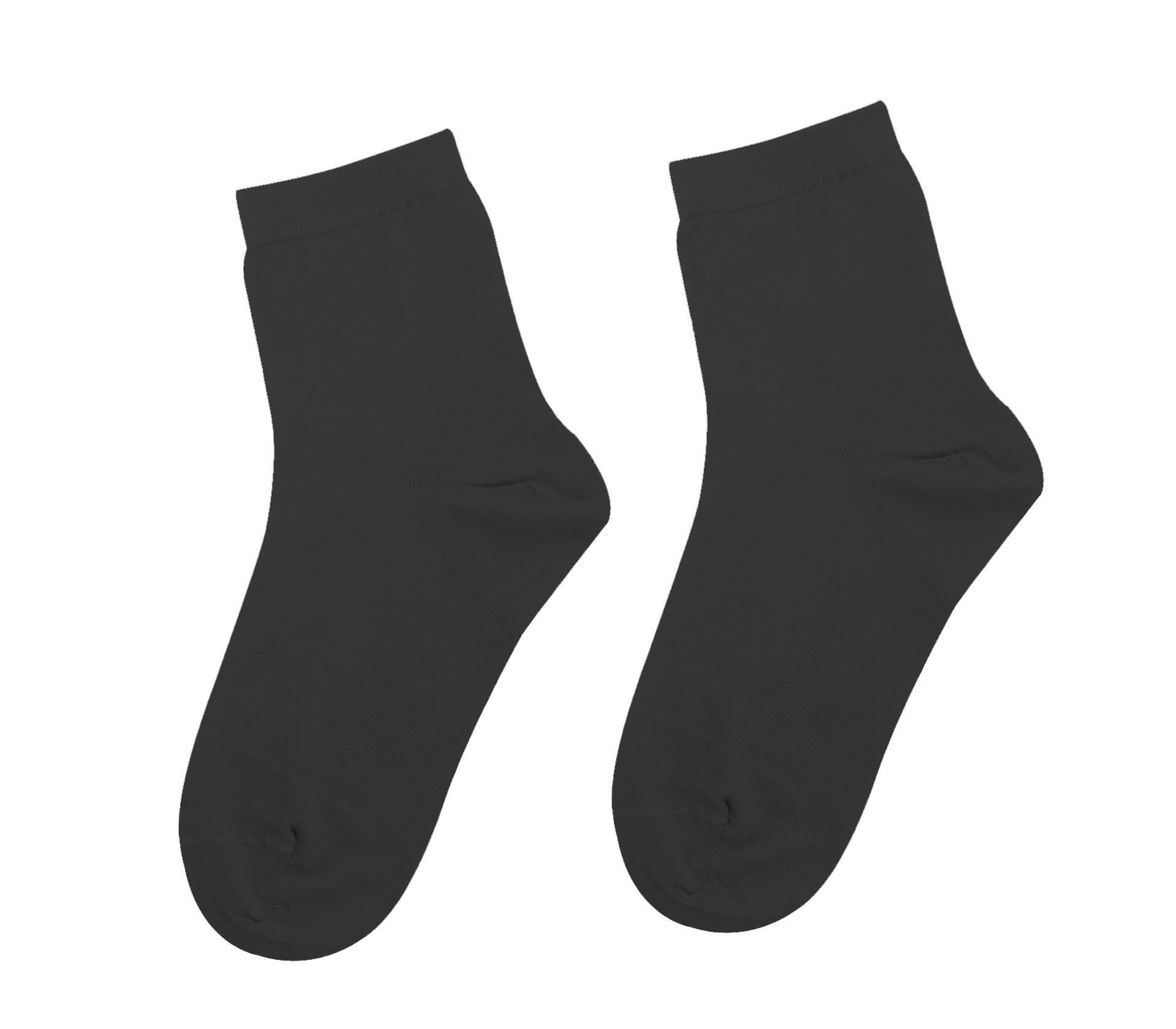 闕蘭絹舒適自在彈性蠶絲襪(黑)(22-24CM)