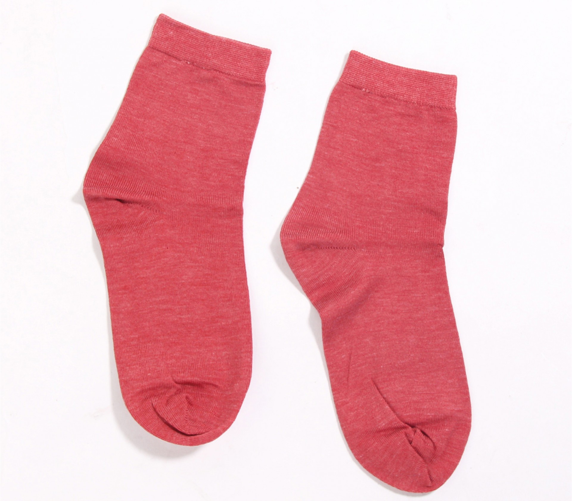 闕蘭絹舒適自在彈性蠶絲襪(暗紅)(22-24CM)