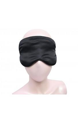 闕蘭絹100%蠶絲黑色眼罩 - 116