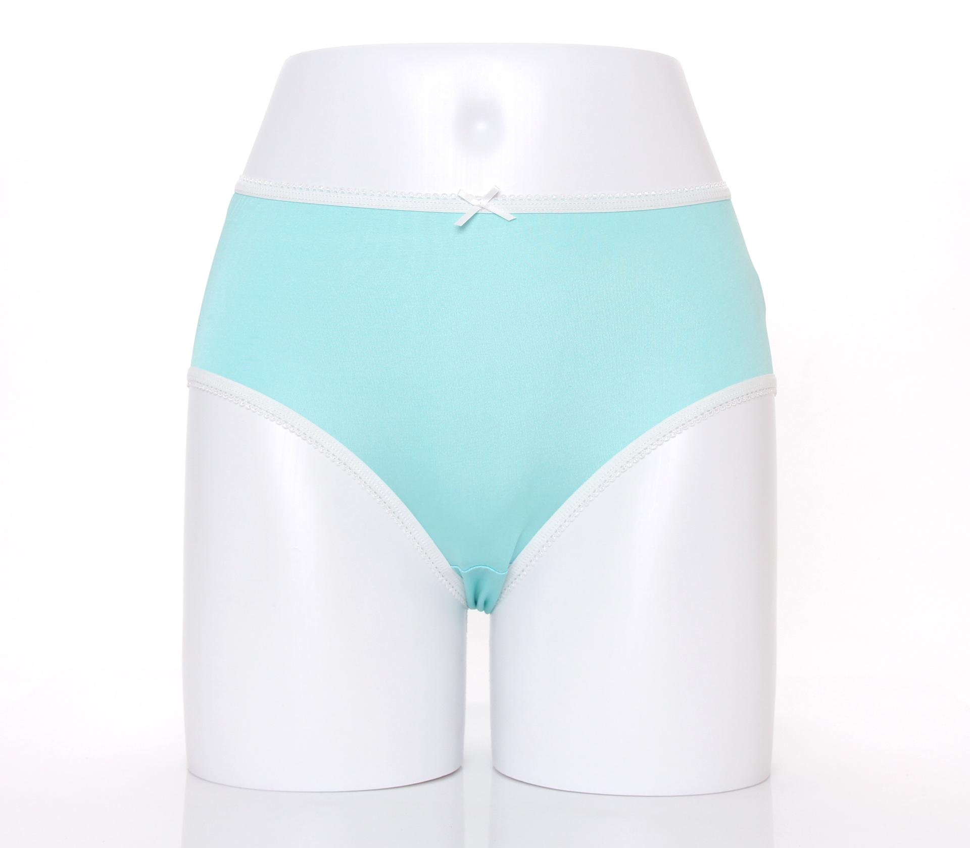 闕蘭絹清新甜美100%蠶絲內褲-2211(綠)
