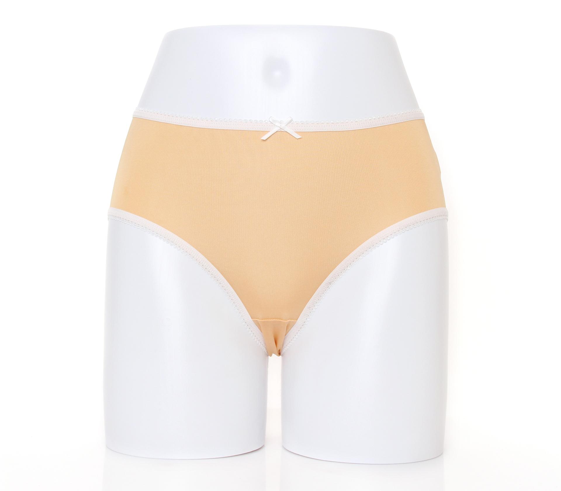 闕蘭絹清新甜美100%蠶絲內褲-2211(膚)