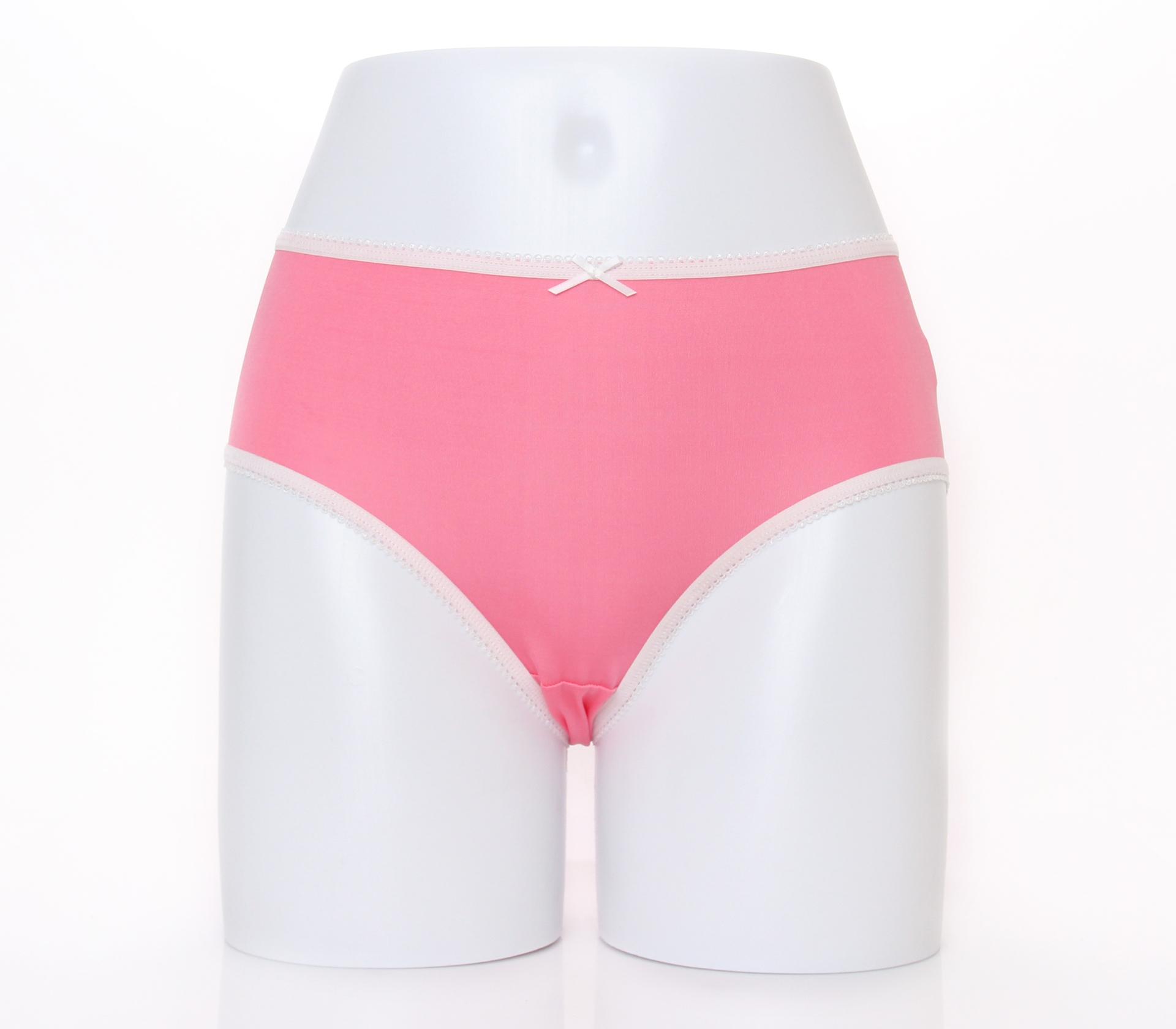 闕蘭絹清新甜美100%蠶絲內褲-2211(粉)