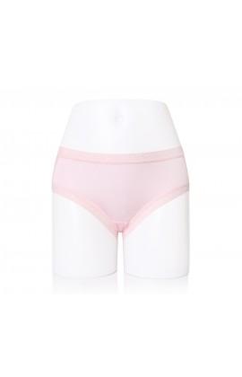 闕蘭絹性感蕾絲100%蠶絲內褲-2220 (粉)