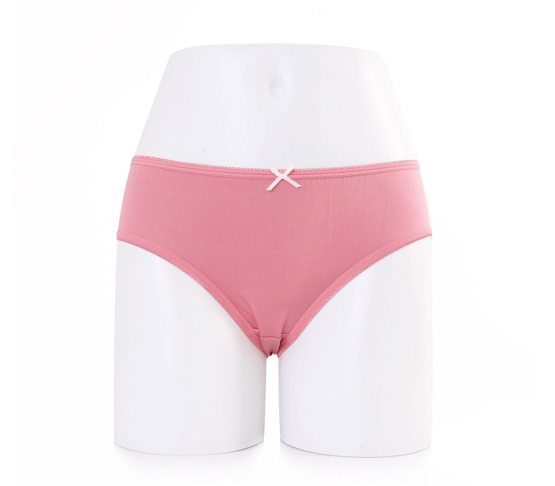 闕蘭絹可愛粉嫩30針100%蠶絲內褲-2221(粉)