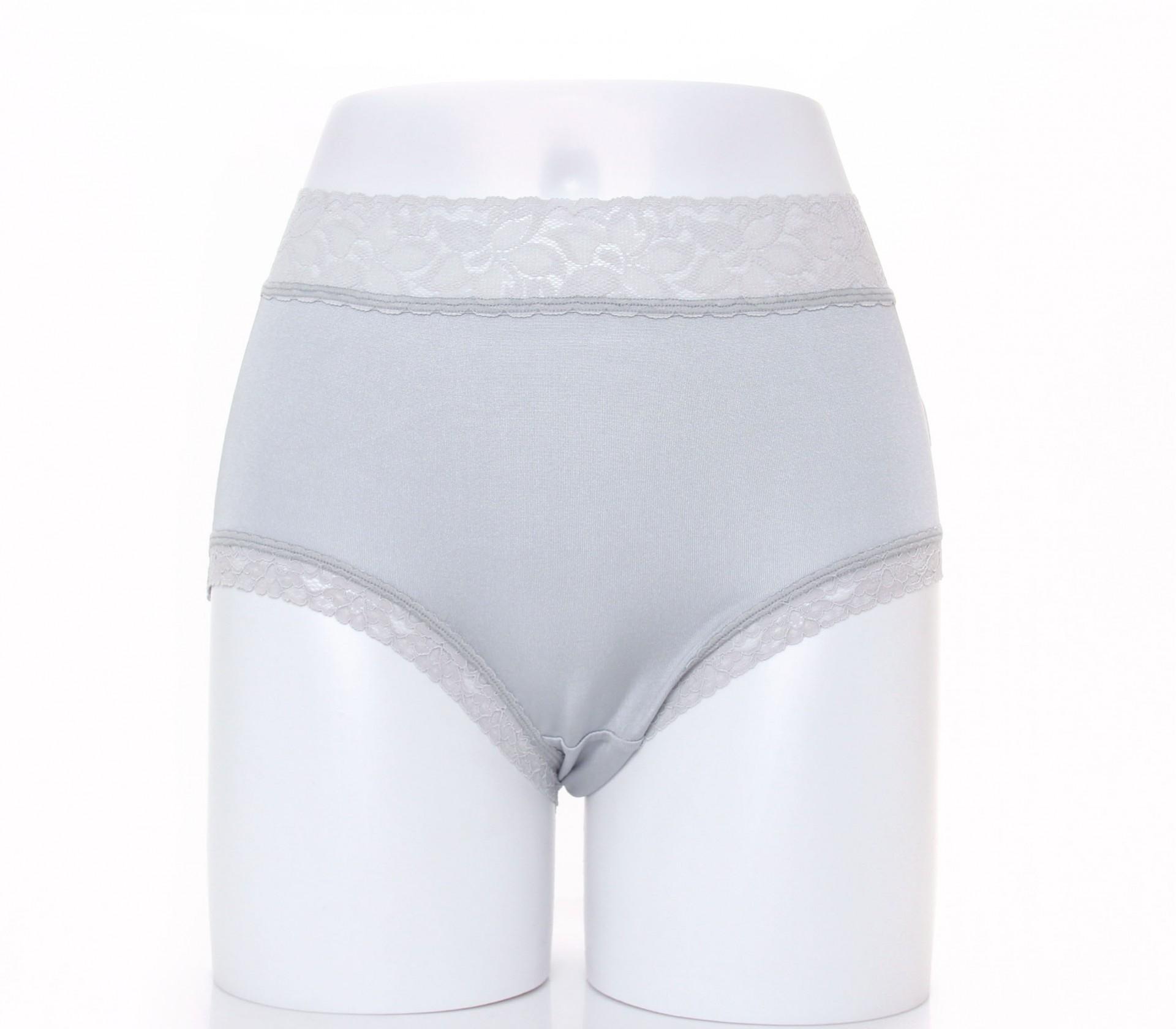 闕蘭絹優雅氣質100%蠶絲內褲-3310(灰)