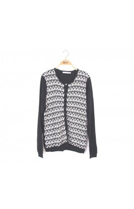【Royal Silk】雋永名精品厚磅蠶絲針織外套-7705