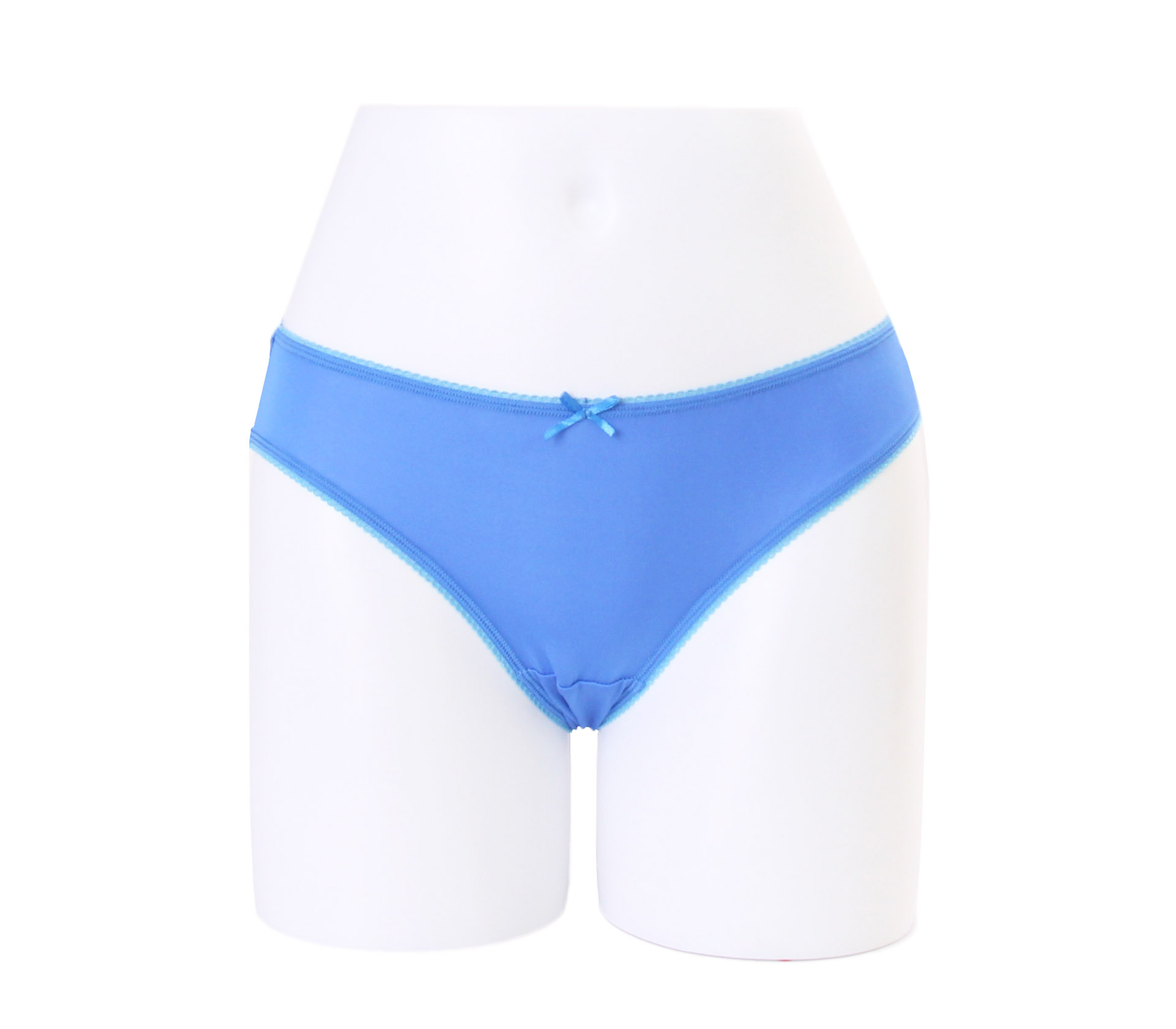 闕蘭絹32針超涼春蠶100%蠶絲內褲-88112-1(藍)