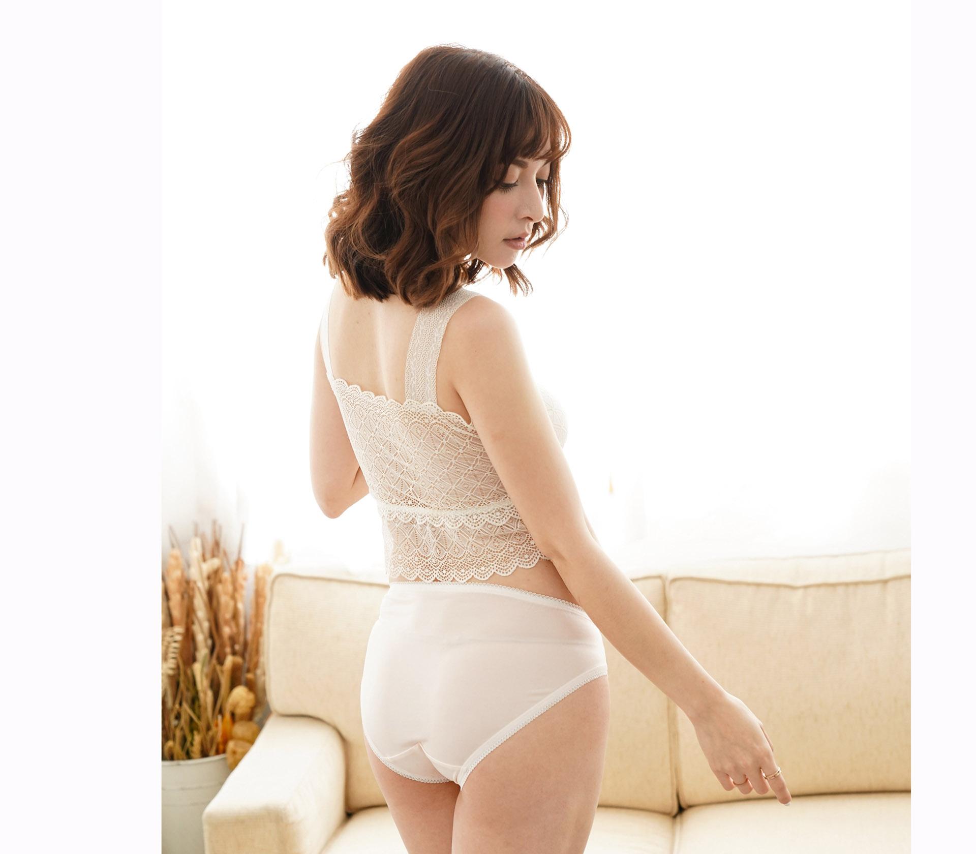 闕蘭絹32針超涼春蠶100%蠶絲內褲-88112-1(淺粉)