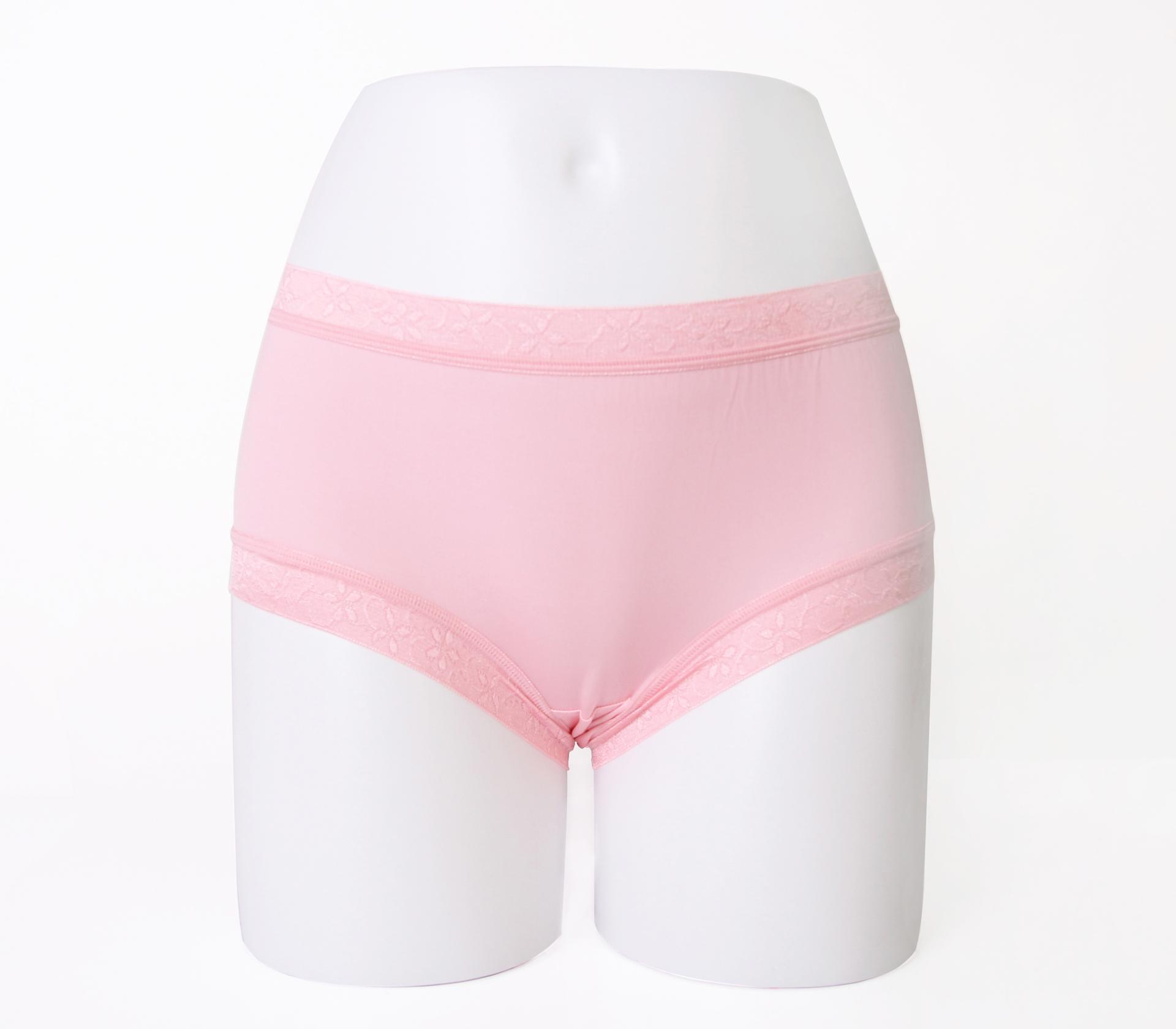 闕蘭絹32針超涼春蠶100%蠶絲內褲-88112-2(粉)