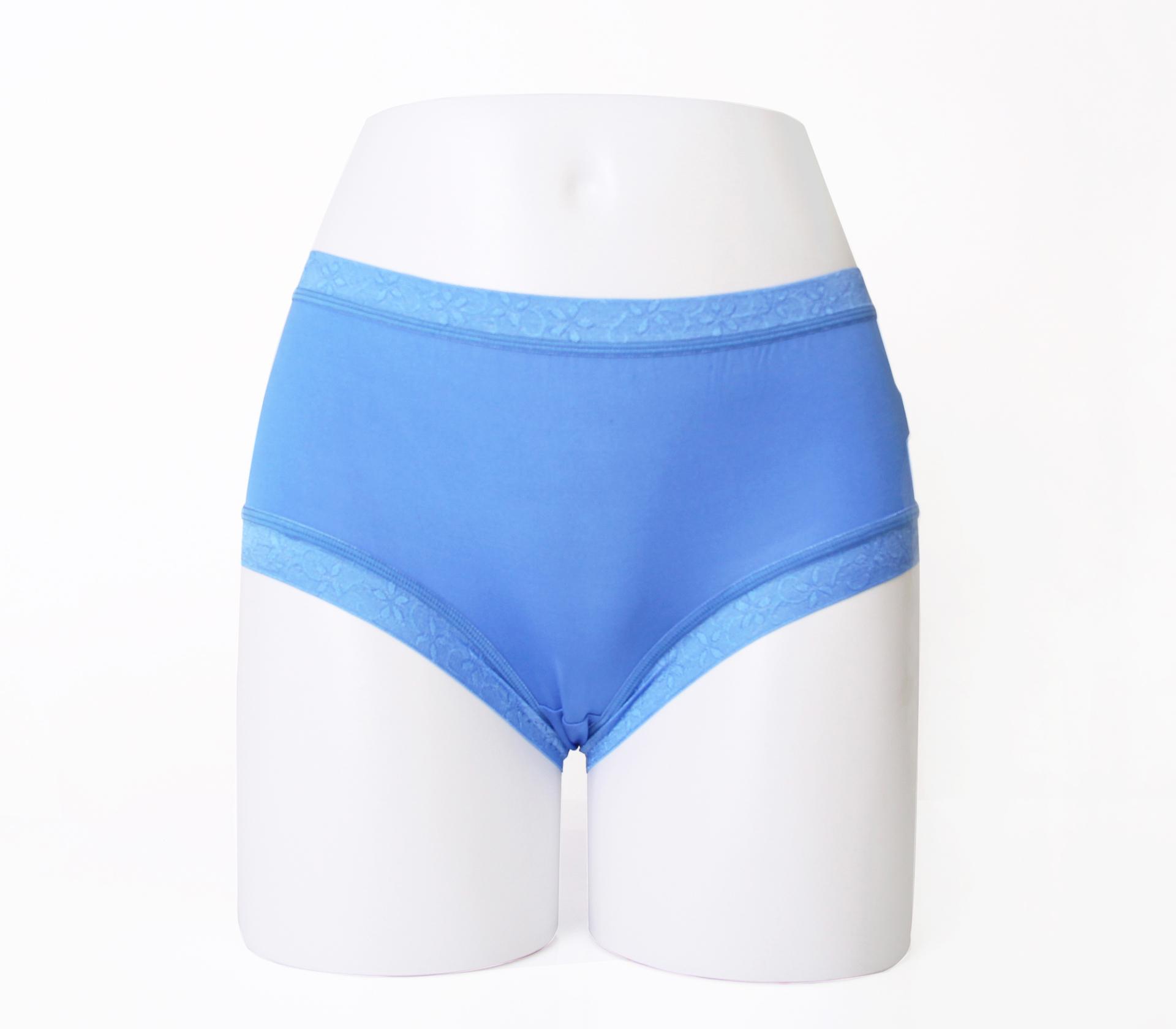闕蘭絹32針超涼春蠶100%蠶絲內褲-88112-2(藍)
