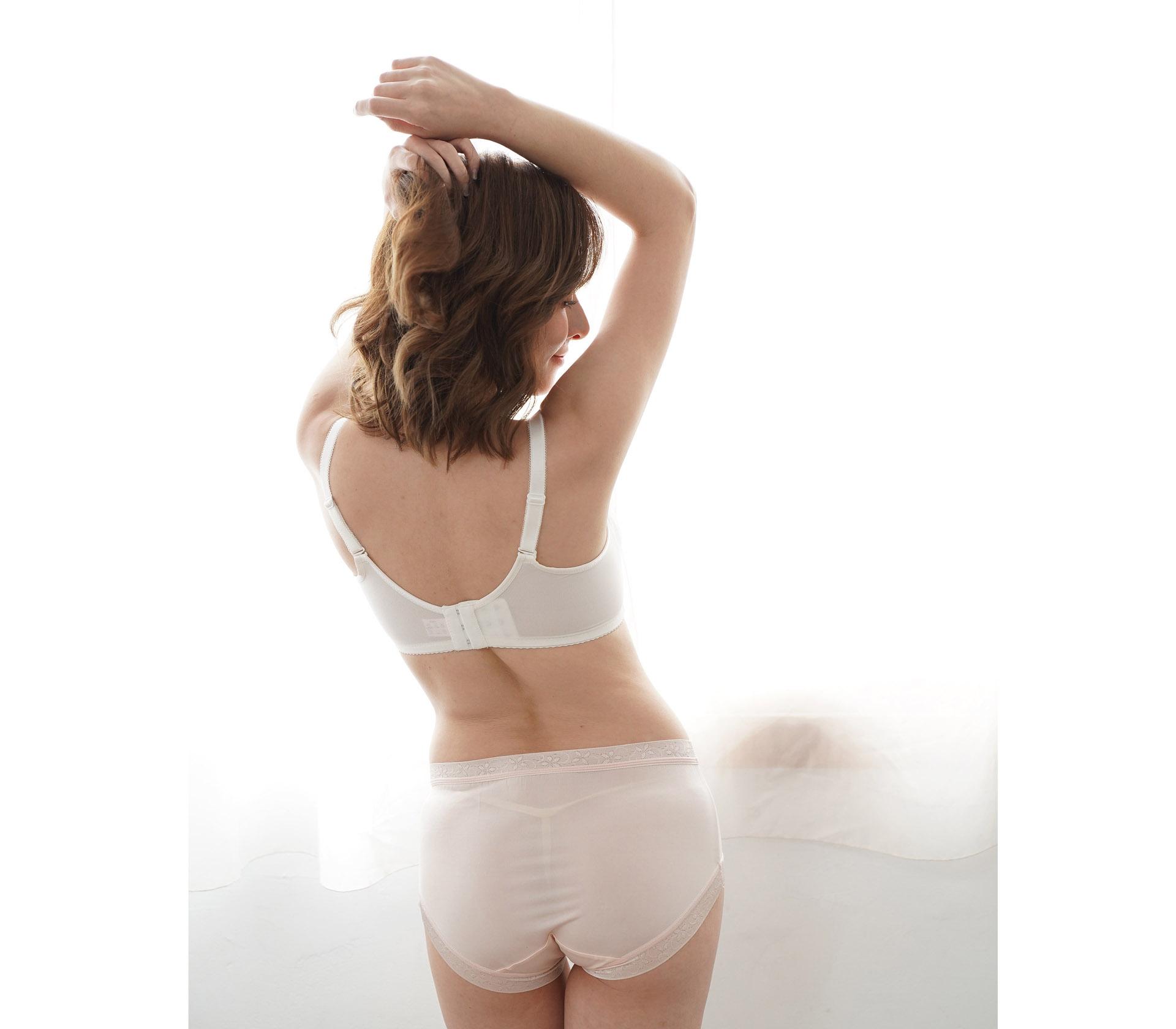 闕蘭絹32針超涼春蠶100%蠶絲內褲-88112-2(淺粉)