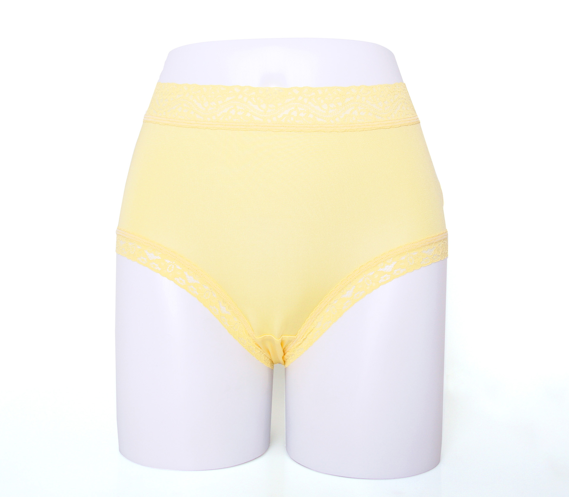 闕蘭絹32針超涼春蠶100%蠶絲內褲-88112(黃)