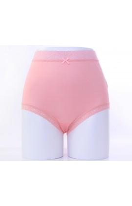 闕蘭絹親膚絲滑42針100%蠶絲內褲-88421(粉)