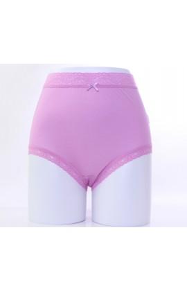 闕蘭絹親膚絲滑42針100%蠶絲內褲-88421(紫)