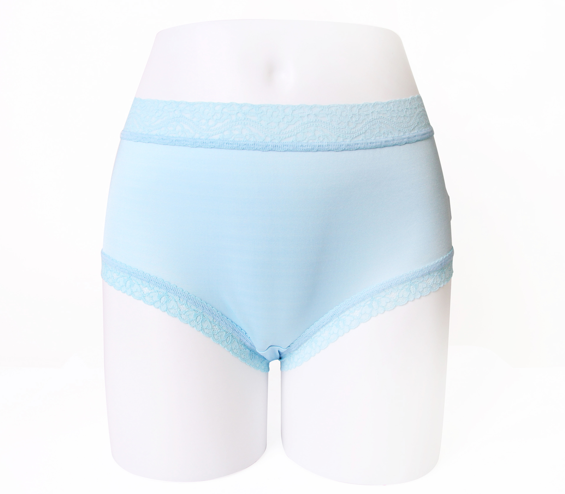 闕蘭絹輕柔素雅100%蠶絲內褲-88422(藍)