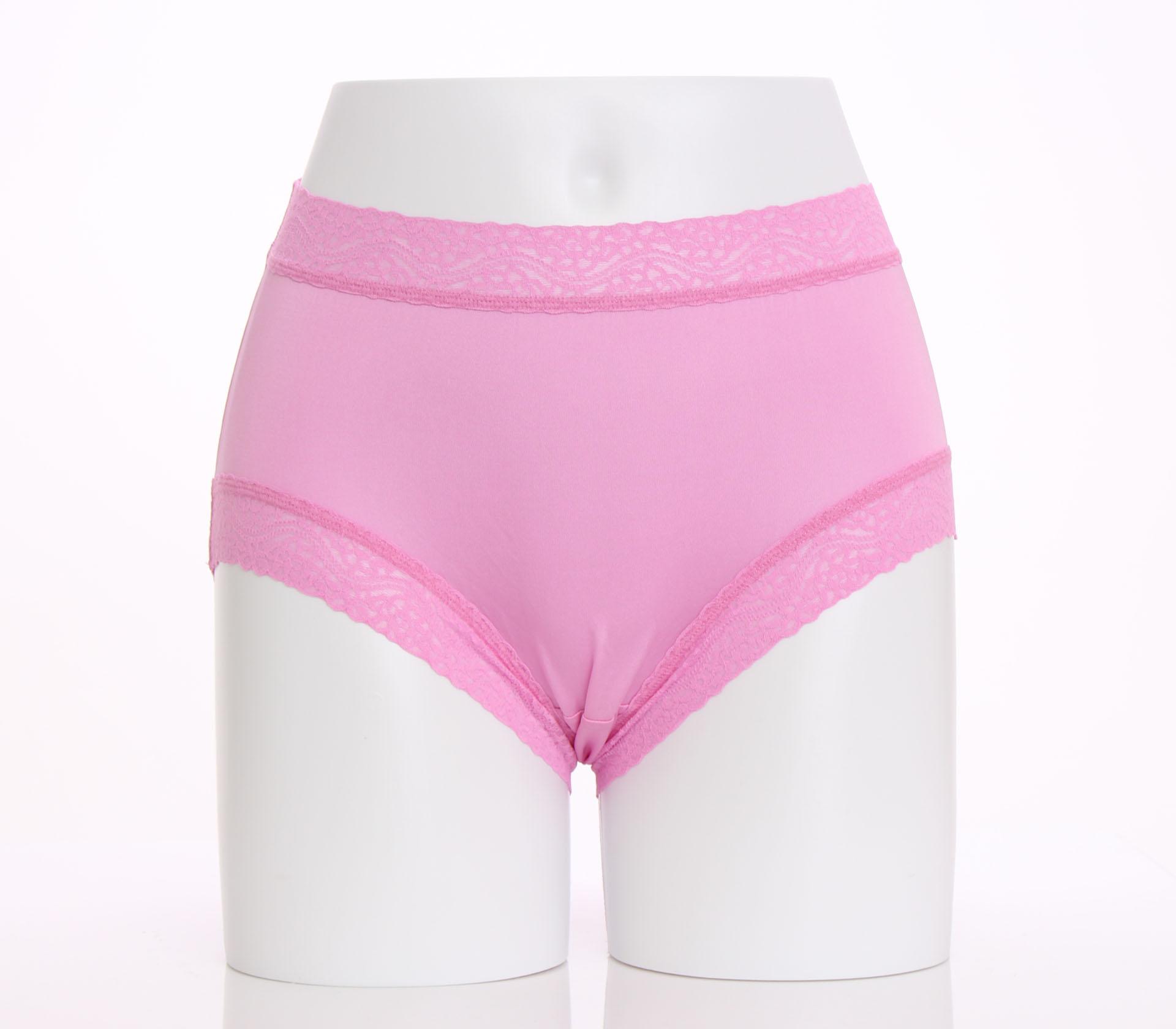 闕蘭絹簡約舒適100%蠶絲內褲-8879(紫)