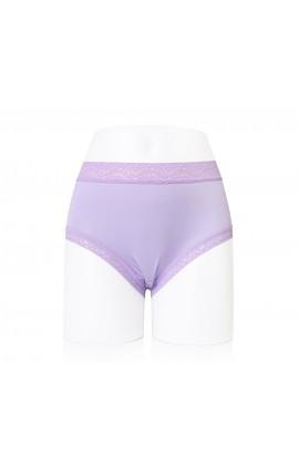 闕蘭絹質感舒適40針100%蠶絲內褲-887901 (紫色)