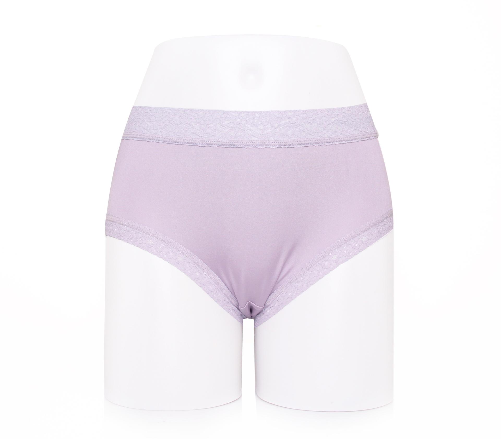 闕蘭絹典雅氣質40針100%蠶絲內褲-887902(紫)