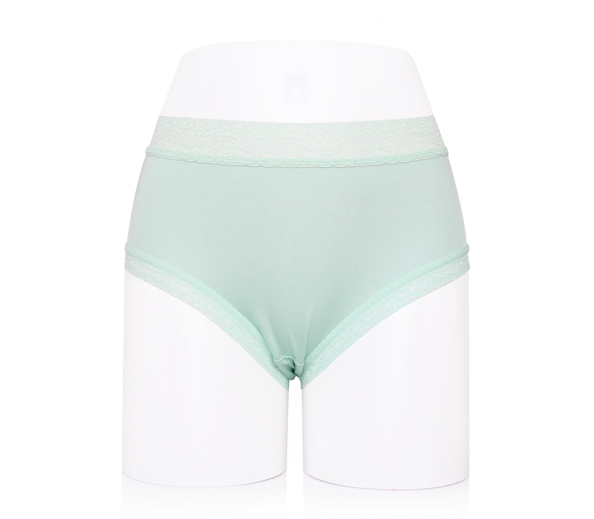 闕蘭絹典雅氣質40針100%蠶絲內褲-887902(綠)