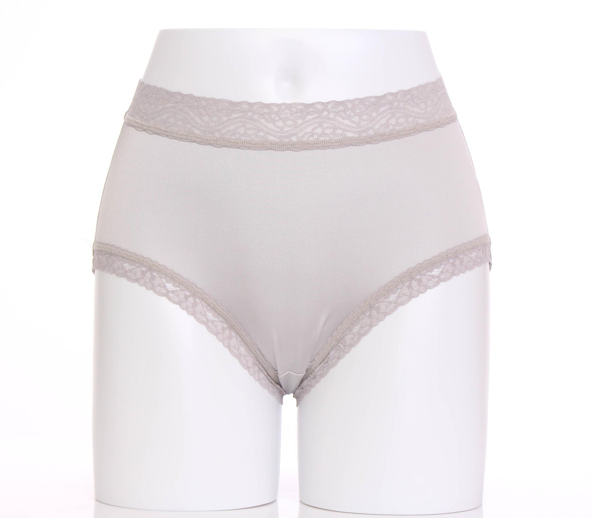 闕蘭絹精緻高密度100%蠶絲內褲-88791(灰)