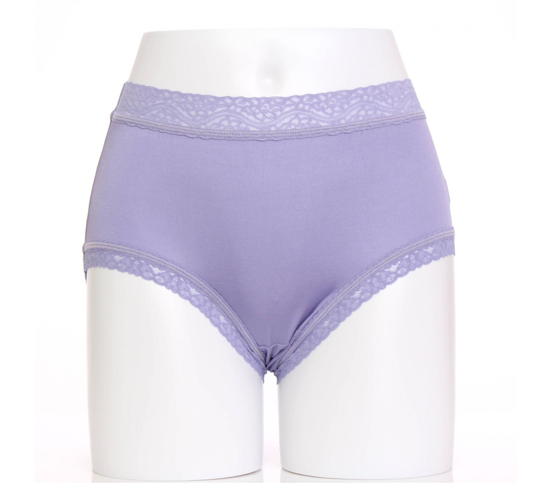 闕蘭絹精緻高密度100%蠶絲內褲-88791(紫色)