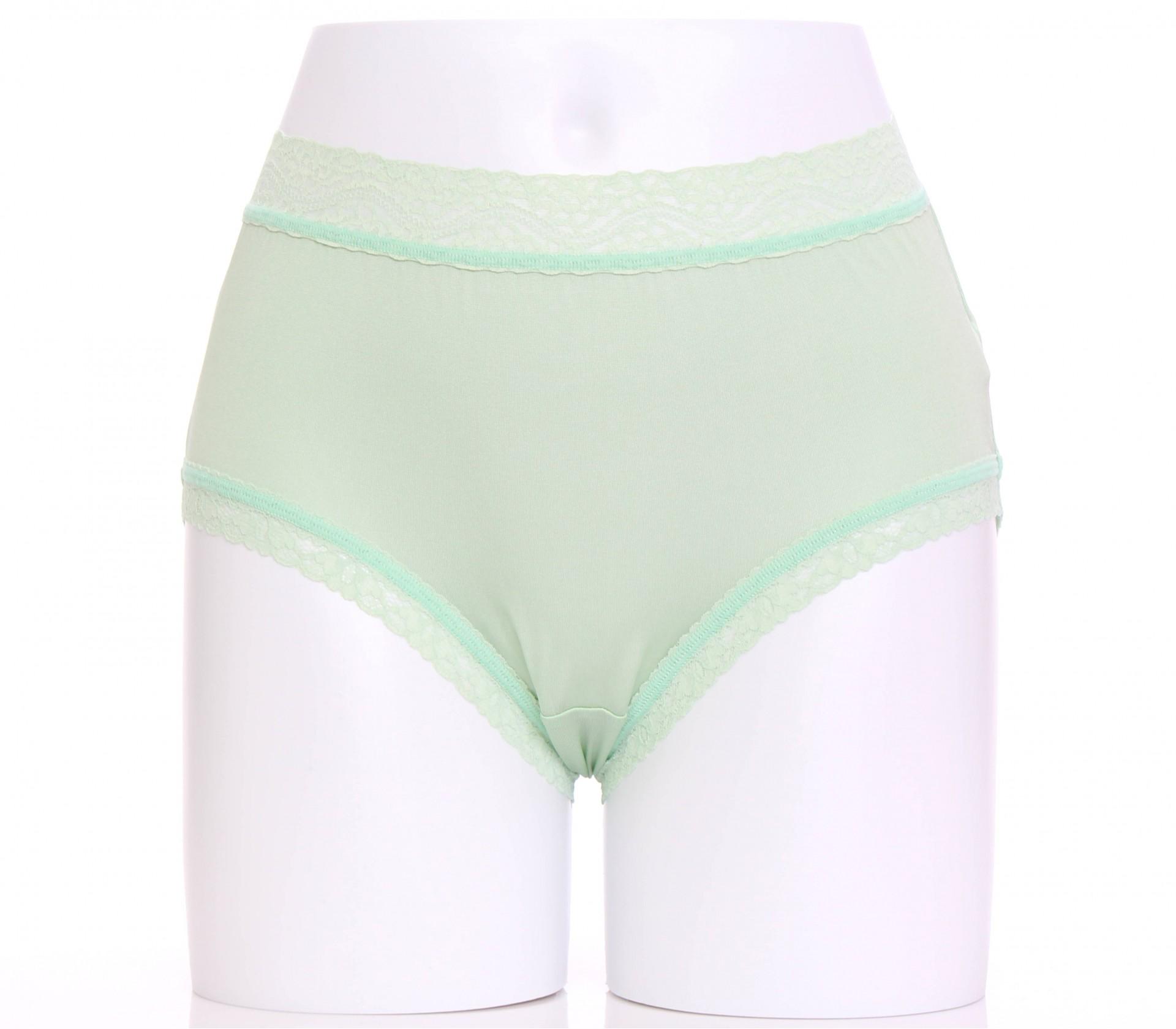 闕蘭絹精緻高密度100%蠶絲內褲-88791(綠)