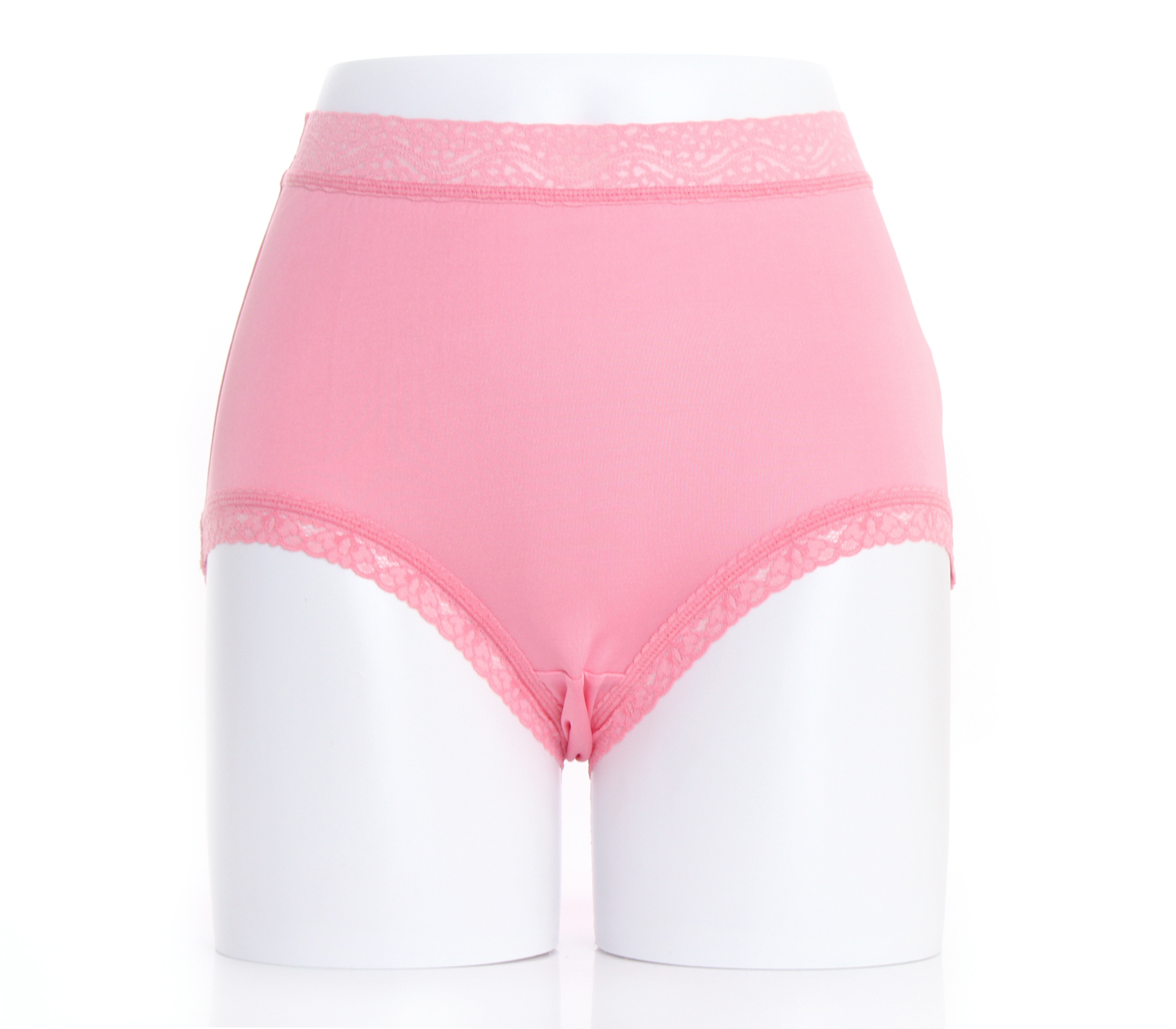 闕蘭絹『超高腰』包覆頂級40針100%蠶絲內褲-8795(粉)
