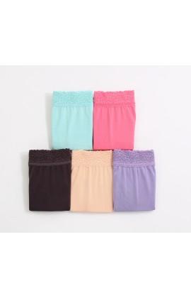 闕蘭絹頂級絲滑100%蠶絲內褲五件組-88797