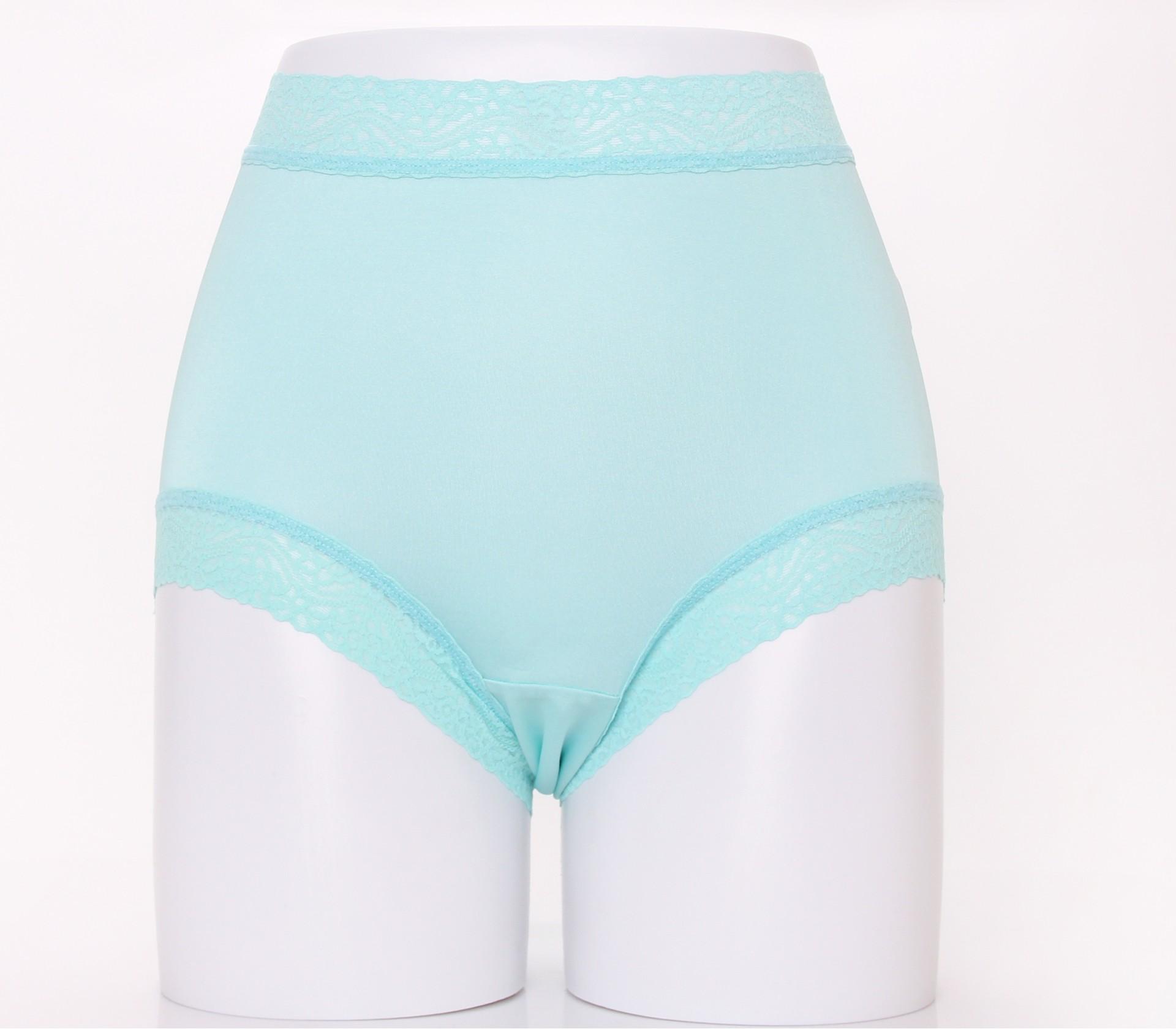 闕蘭絹頂級絲滑100%蠶絲內褲-88797(藍)