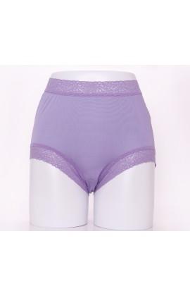 闕蘭絹頂級絲滑100%蠶絲內褲-88797(紫)