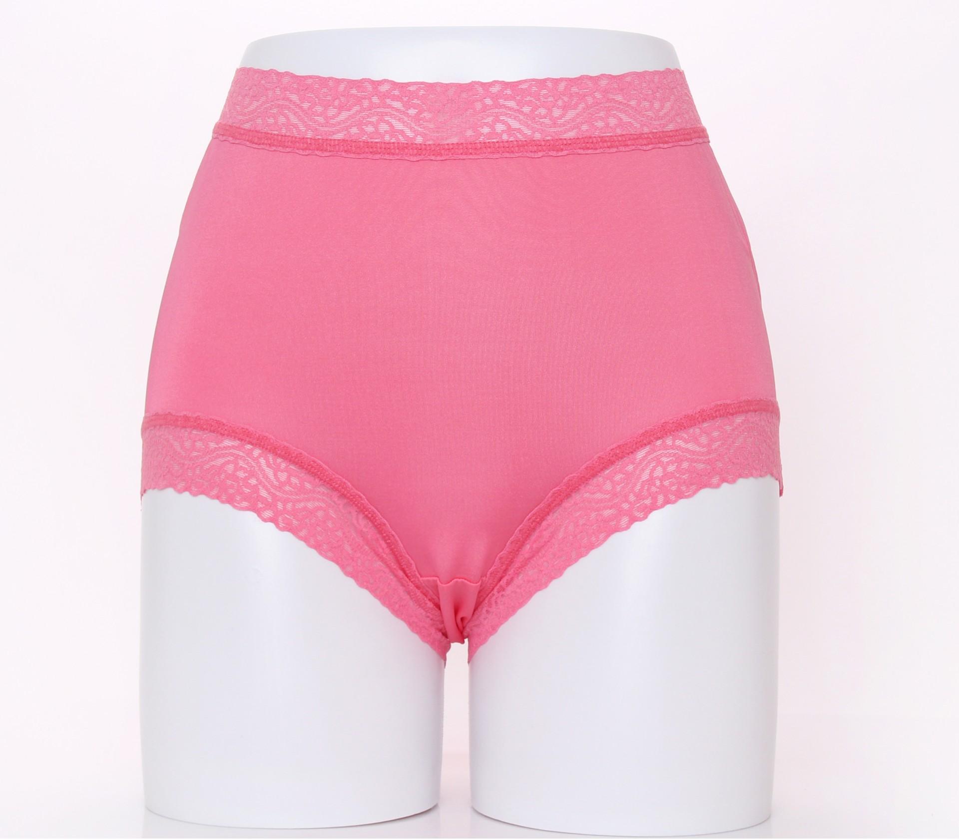 闕蘭絹頂級絲滑100%蠶絲內褲-88797(粉)