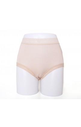 闕蘭絹親膚舒適包覆頂級40針100%蠶絲內褲-88798(灰)