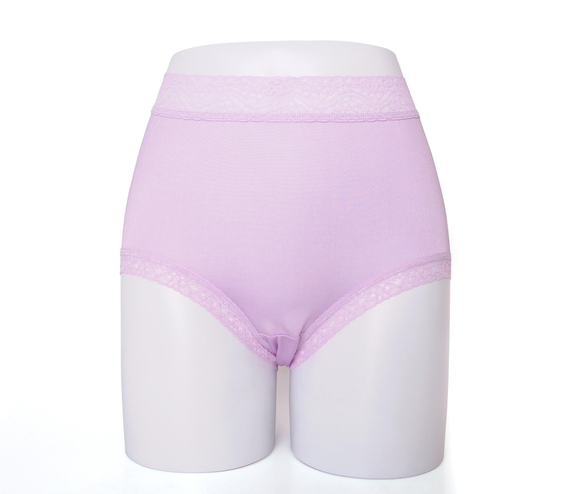 闕蘭絹親膚舒適包覆頂級40針100%蠶絲內褲-88798(紫)