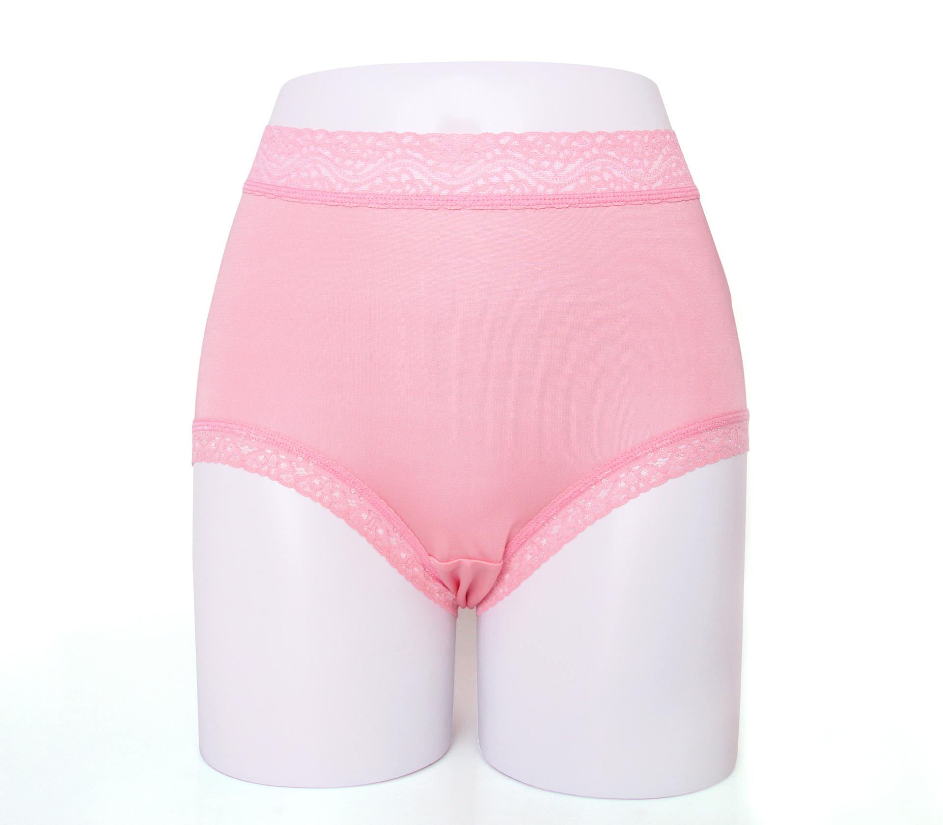 闕蘭絹親膚舒適包覆頂級40針100%蠶絲內褲-88798(粉)