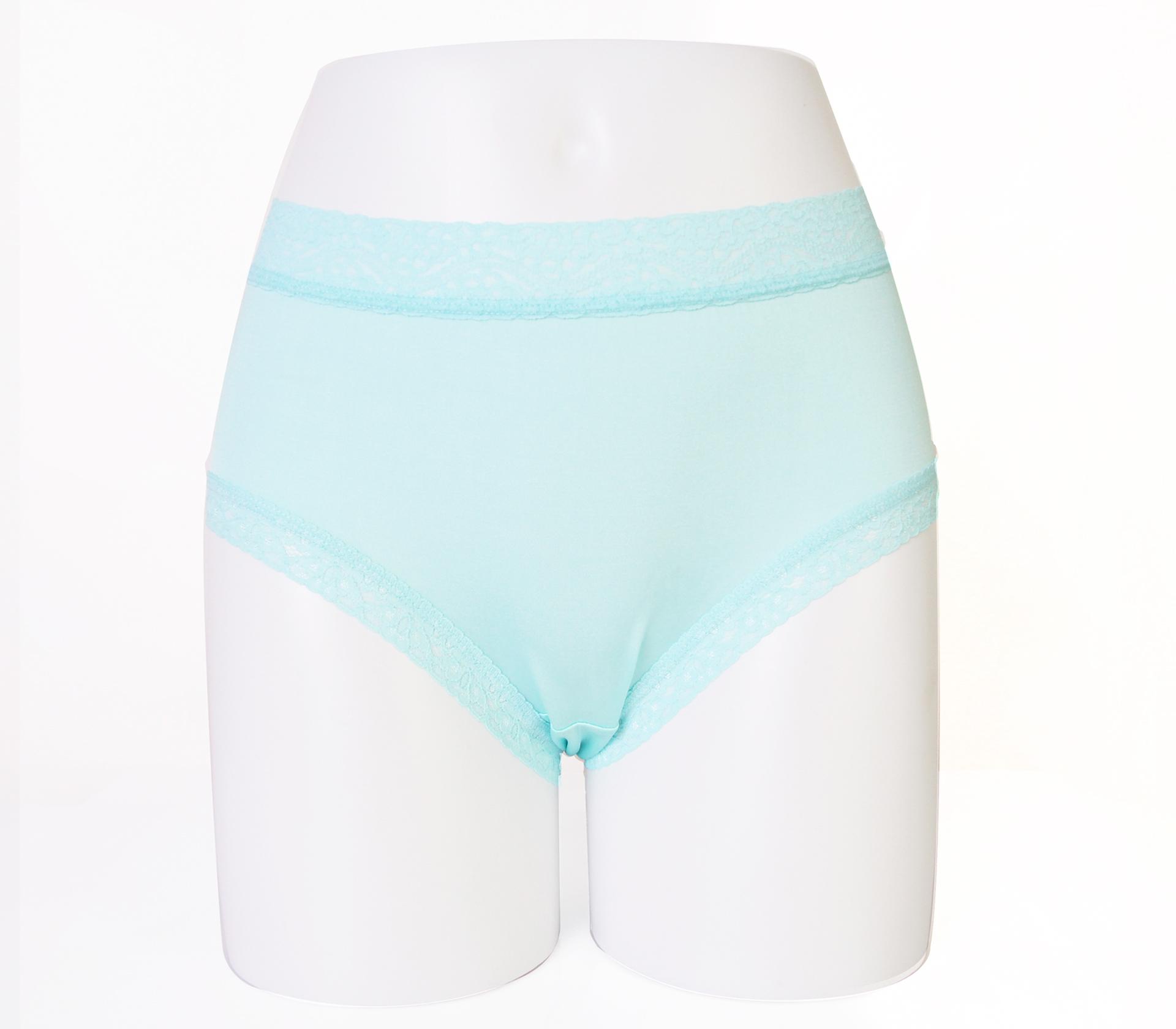 闕蘭絹低調奢華100%蠶絲內褲-88799(淺藍)