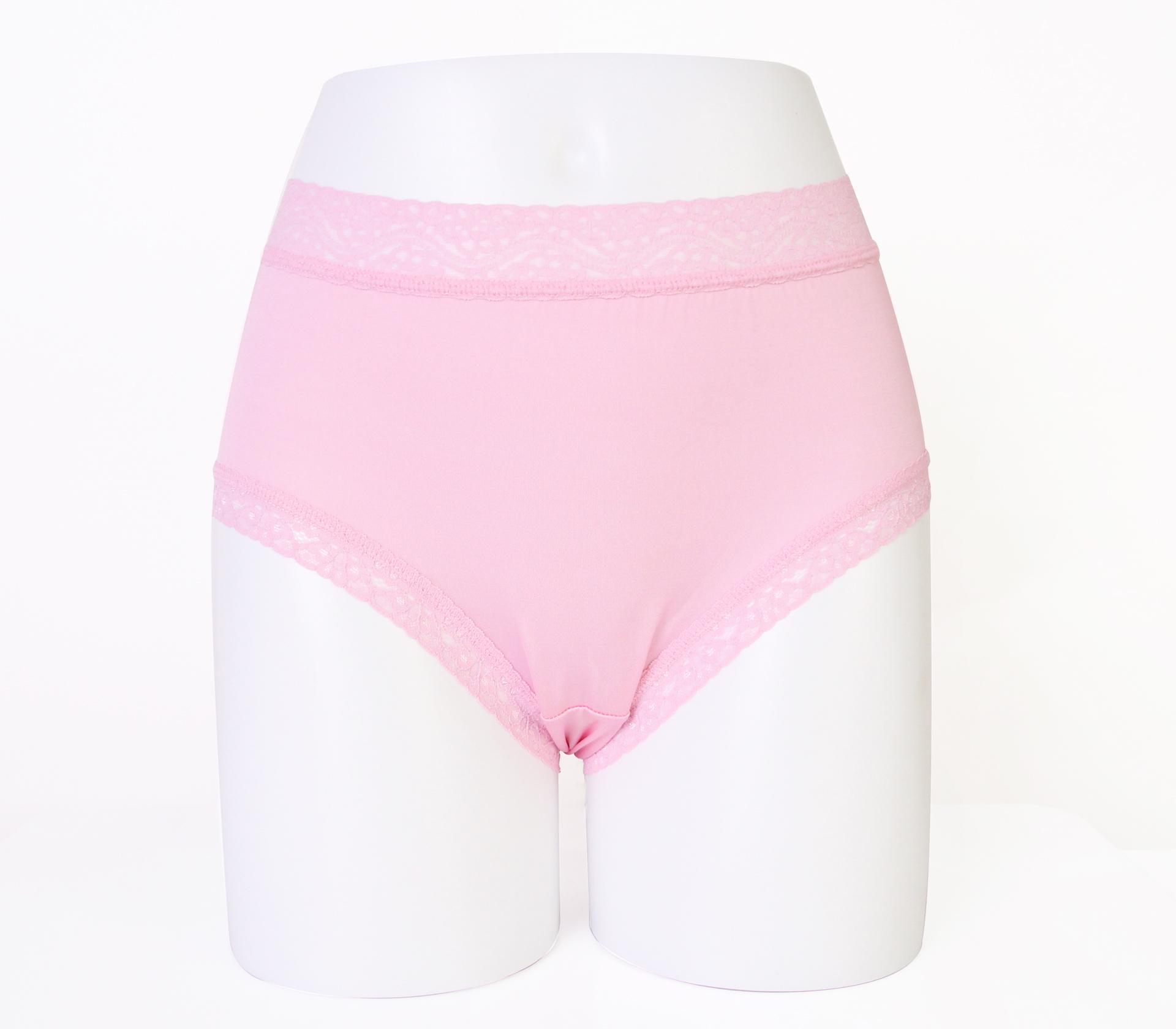 闕蘭絹低調奢華100%蠶絲內褲-88799(粉)