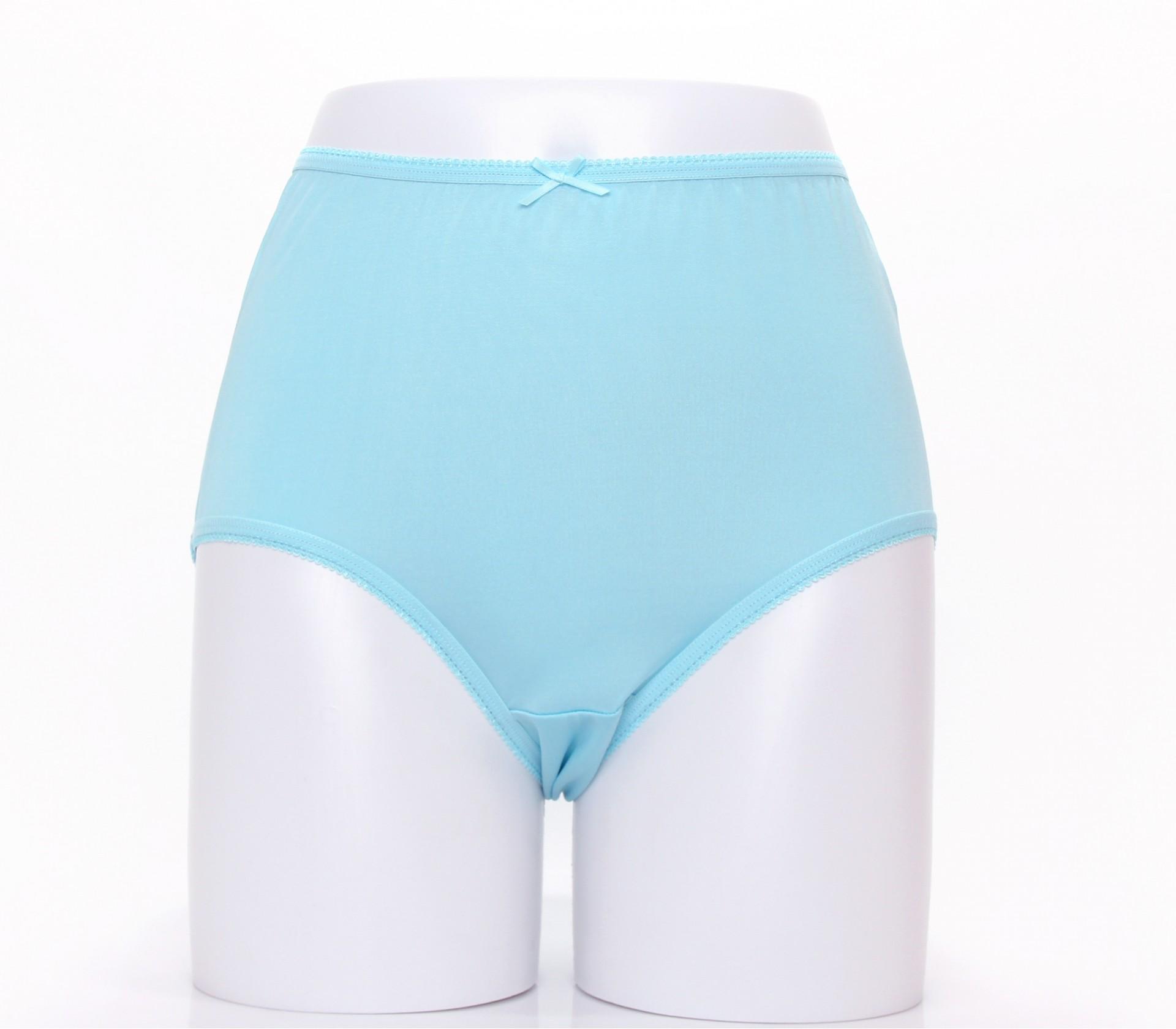 闕蘭絹寵愛優雅100%蠶絲內褲-88901(藍)