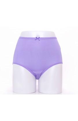 闕蘭絹寵愛優雅100%蠶絲內褲-88901(紫)