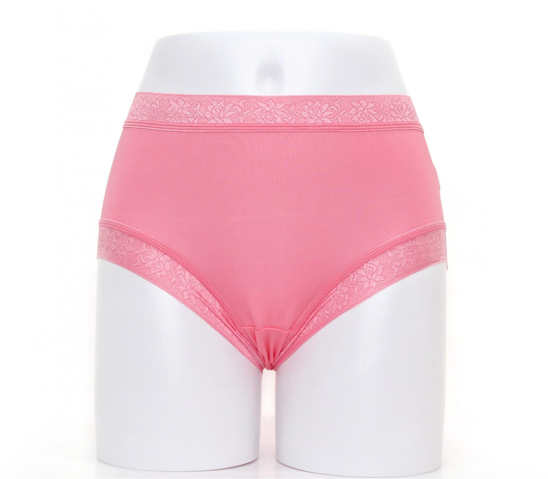闕蘭絹舒適無痕100%蠶絲內褲-88902(粉)