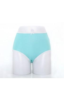 闕蘭絹粉嫩舒適透氣100%蠶絲內褲-88903(綠)