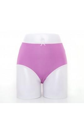 闕蘭絹粉嫩舒適透氣100%蠶絲內褲-88903(紫)