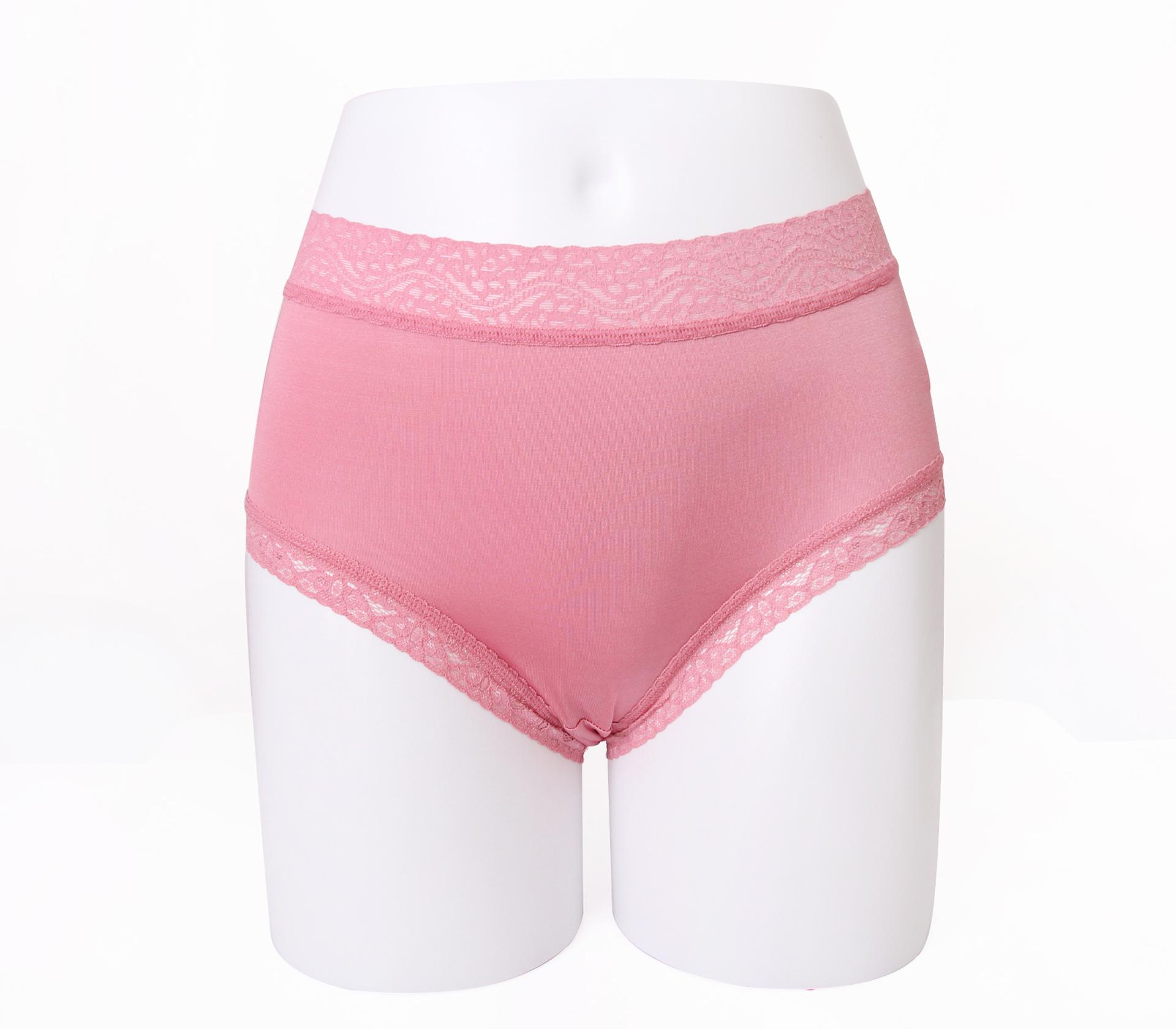 闕蘭絹舒適親膚100%蠶絲內褲-88905(粉)