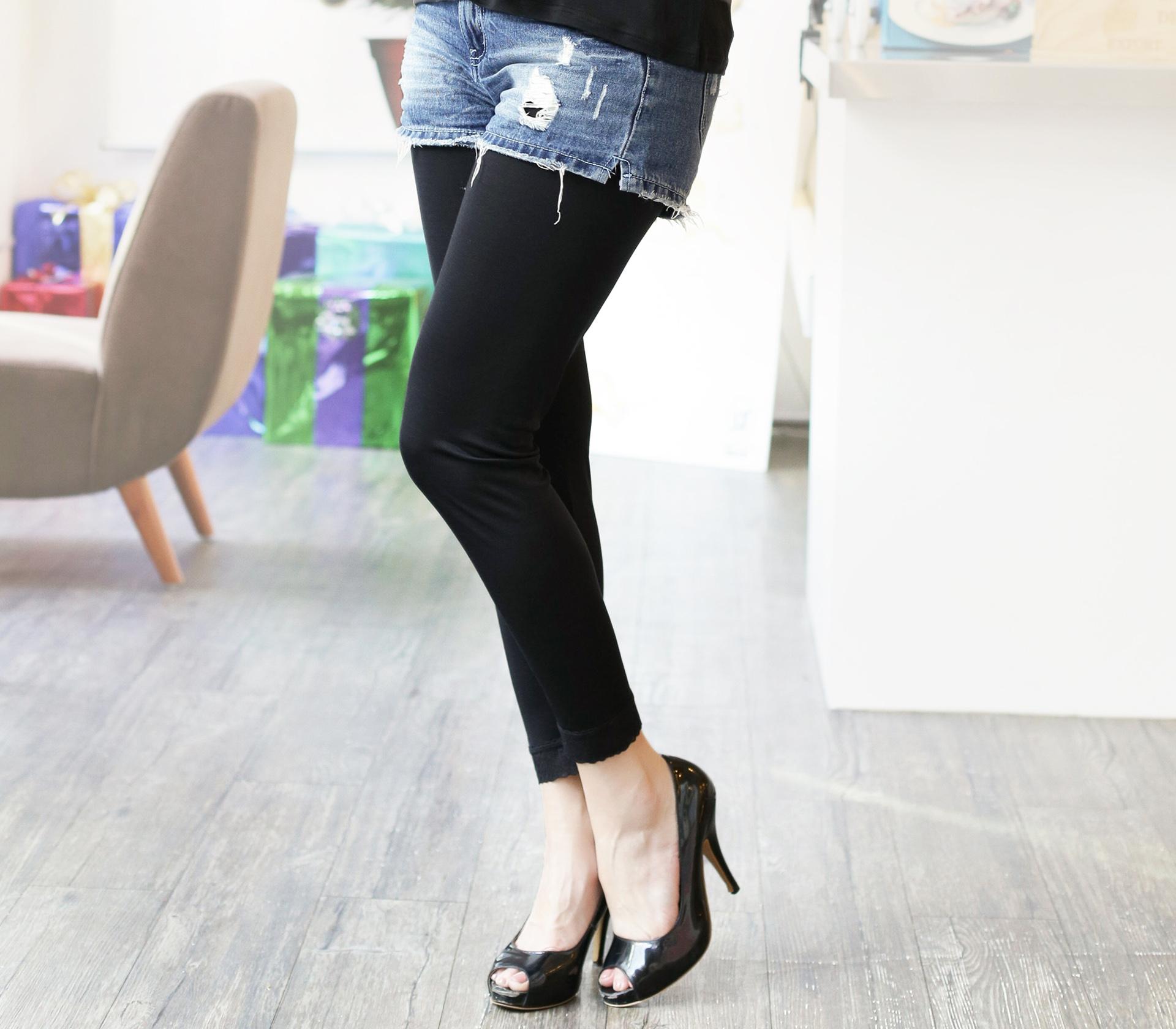 闕蘭絹親膚細緻頂級42針100%蠶絲保暖褲-9911